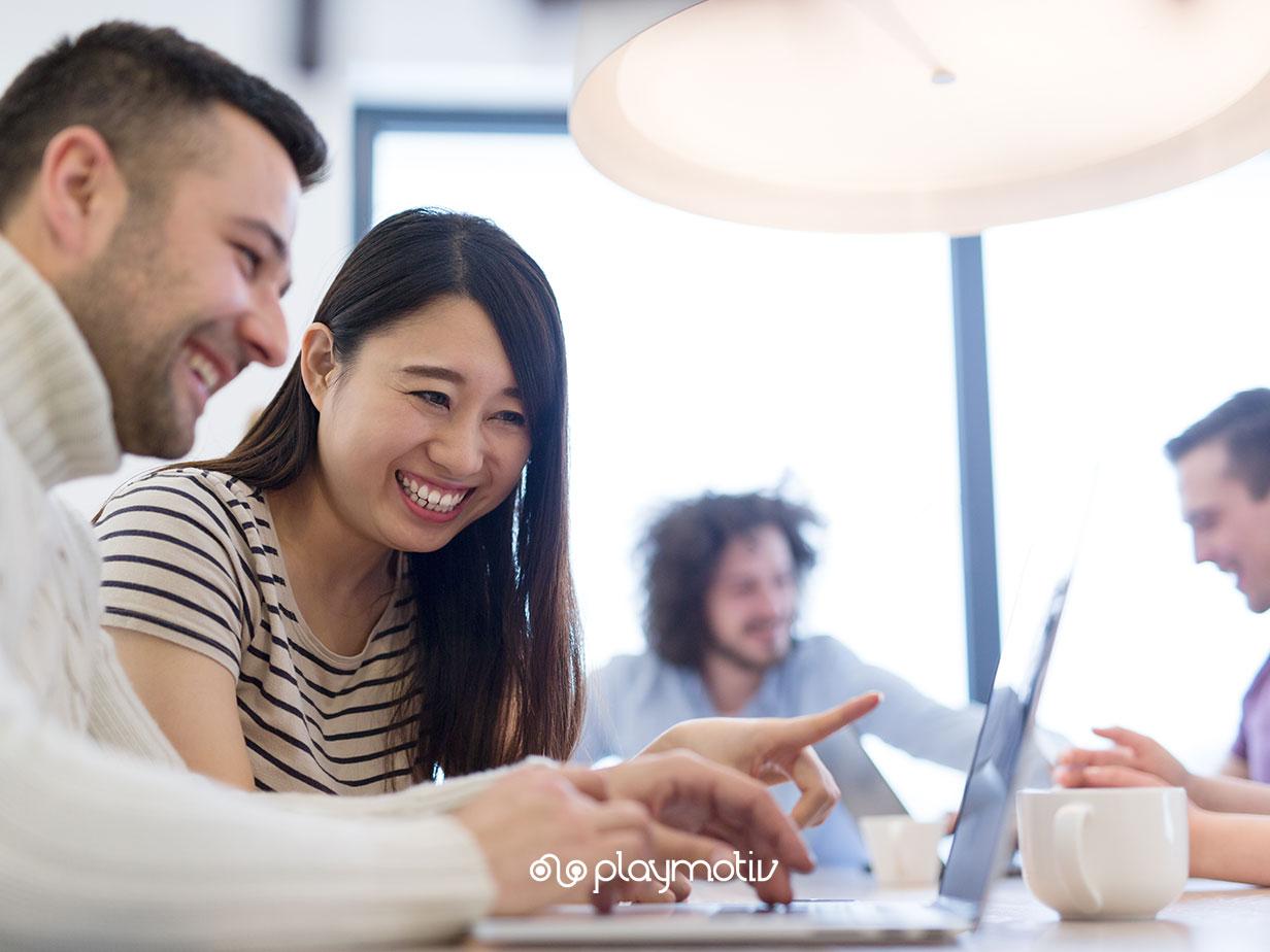 Incentivos laborales - Gamificación para empresas - Playmotiv