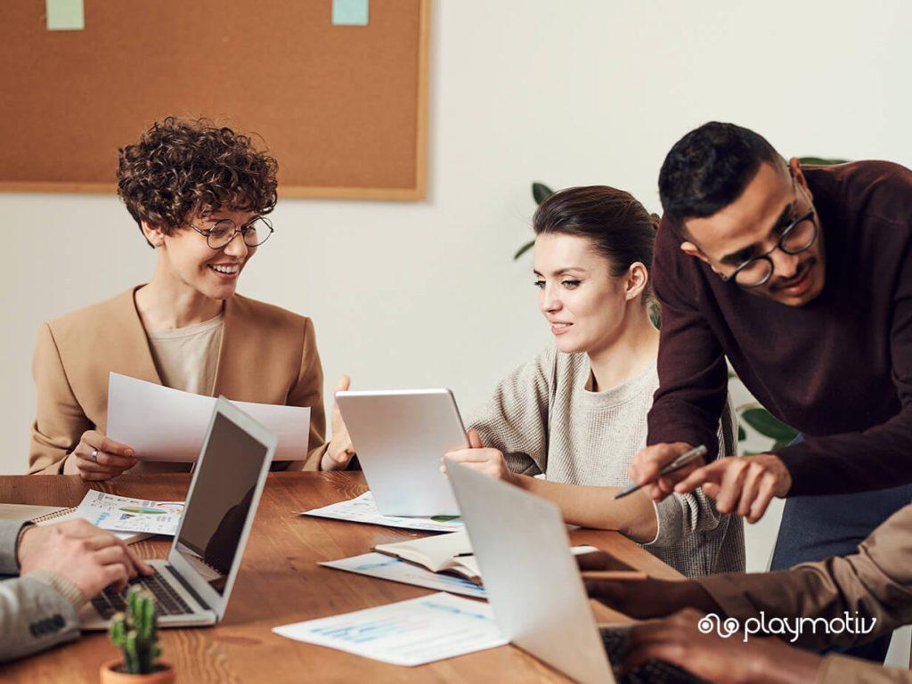 Gamificación para aumentar el employee engagement | Playmotiv