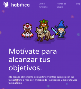 Habitica - Apps para gamificar tu vida - Playmotiv