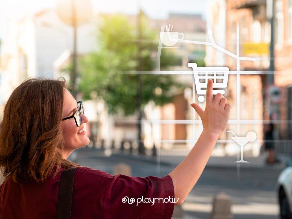 Realidad aumentada, digital signage y mobile apps - Gamificación in store - Playmotiv