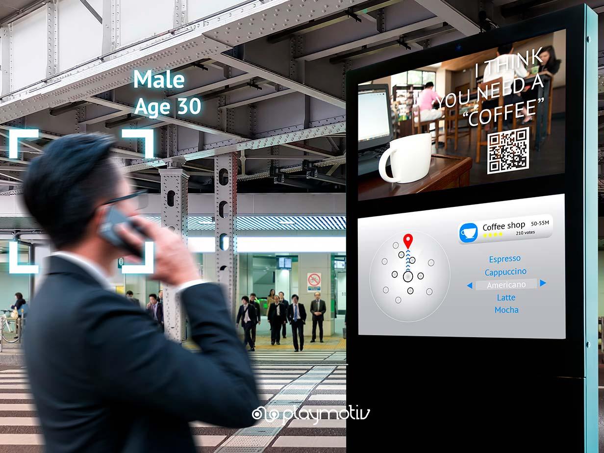 Digital signage y gamificación - Fidelización en el punto de venta - Playmotiv