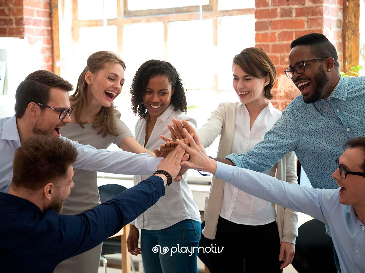 Gestión de equipos de trabajo - Motivación de equipos - Playmotiv