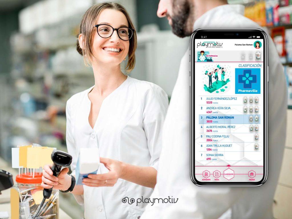 Pharmaville - Gamificación para tu equipo farmacéutico - Playmotiv