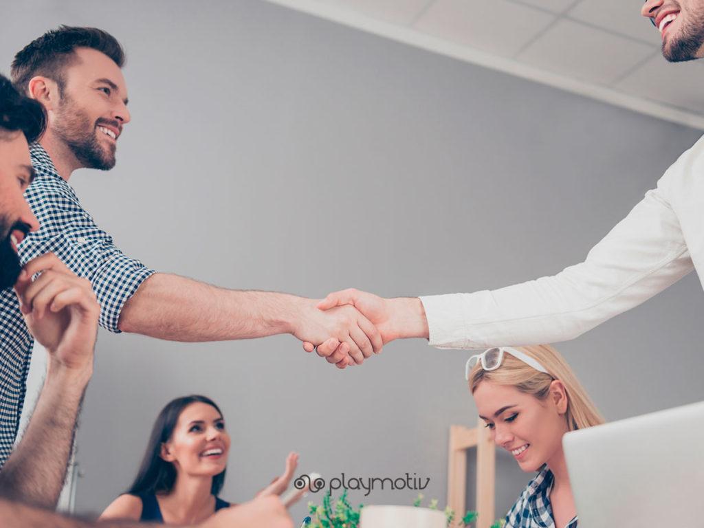 Gamificación en empresas B2B - Playmotiv
